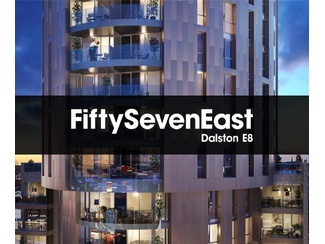 2 bedroom apartment in FiftySevenEast - New London Development in Dalston, E8
